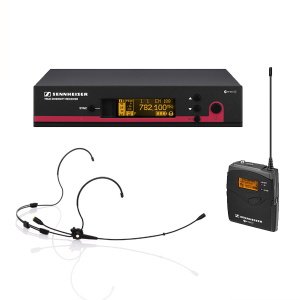 Sennheiser-Wireless-microphone-system-EW100
